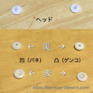 スナップボタンの説明画像